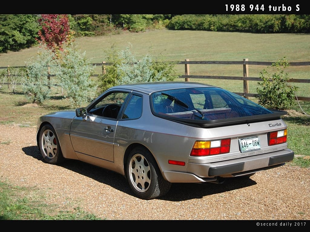 Porsche 944 turbo daily fun second daily classics the 951 wasnt simply a 944 with a bolt on turbocharger and cool deck lid script badge exterior modifications interior changes suspension vanachro Gallery
