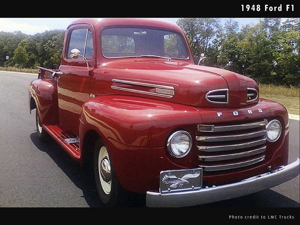 Whats The Best Selling Car In America Thats Right A Truck 1948 Ford Panel F1 Pickup First Year Of F Series Photo Credits To Don E Indiana Courtesy Lmc Trucks