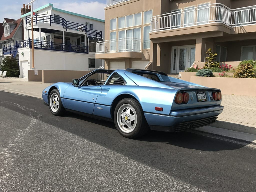 1989 Ferrari 328 GTS in Azzurro blue. Photo credits to Second Daily reader  Augustine Staino