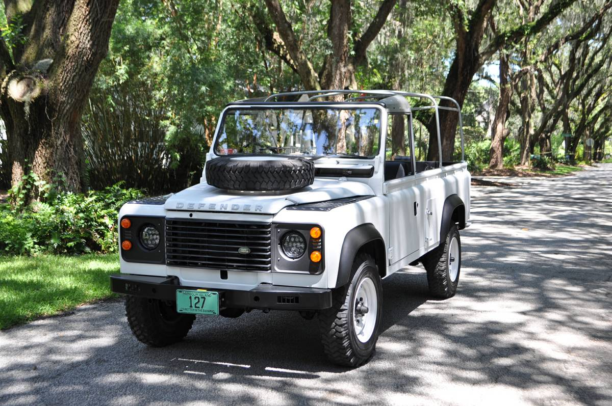 Sold 1986 Land Rover 110 Beach Runner Second Daily Classics