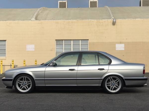Web Finds For Sale 1991 E34 BMW M5  Second Daily Classics