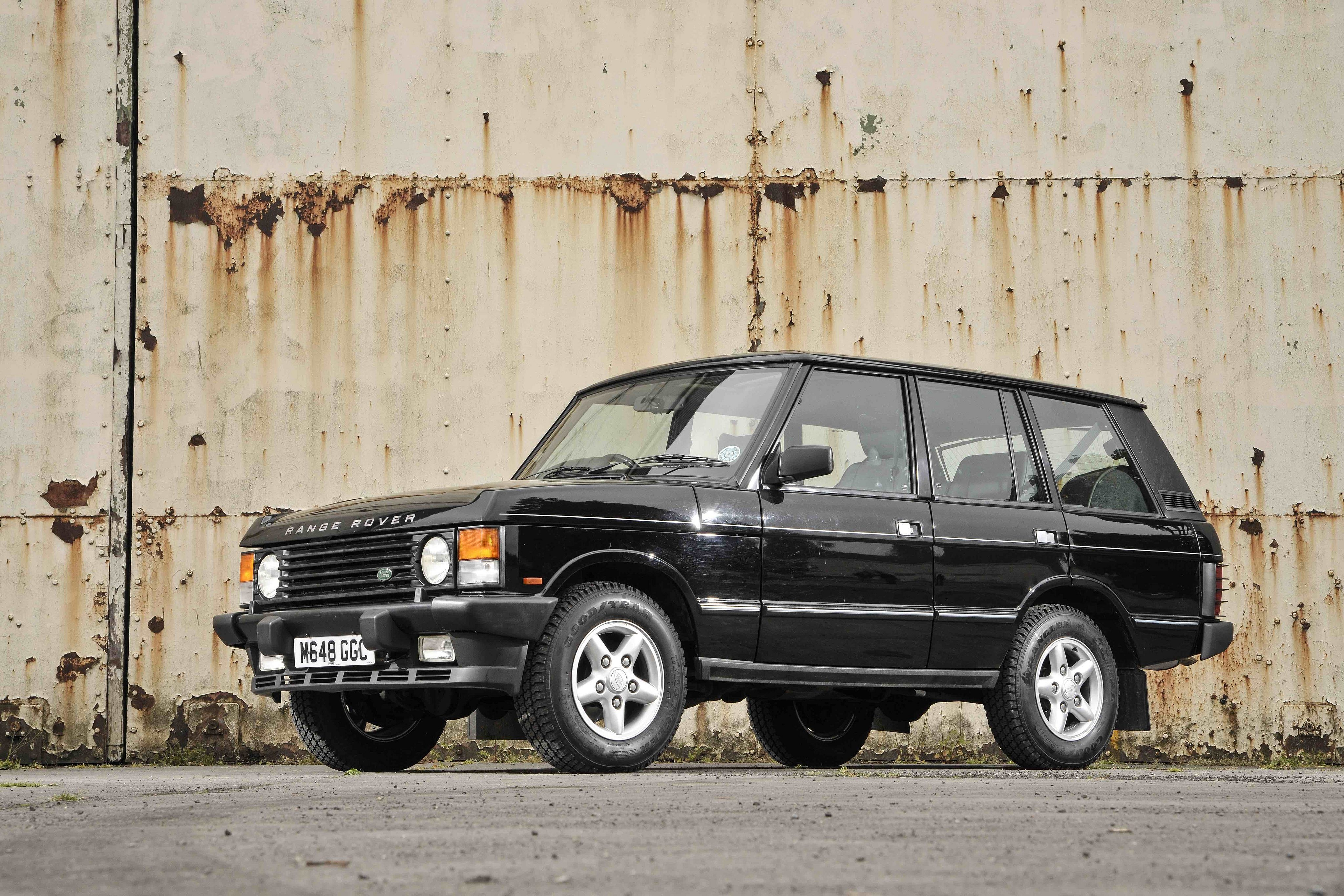 for sale 1995 range rover vogue se classic second daily classics. Black Bedroom Furniture Sets. Home Design Ideas