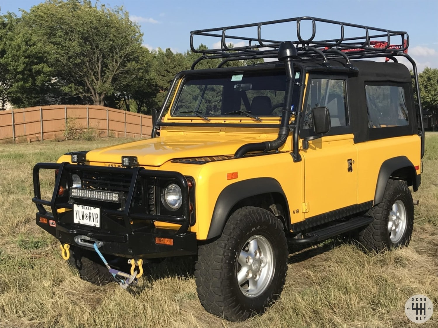 1994 Land Rover Defender 90 Nas For Sale Second Daily