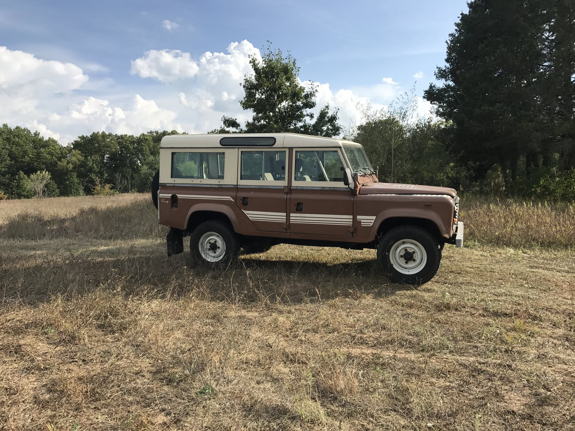 1983 Land Rover One Ten   Second Daily Clics