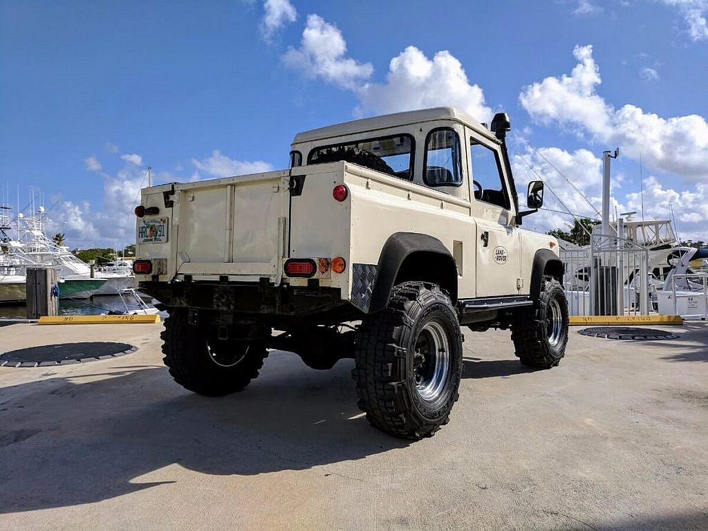 1984 Land Rover Ninety 90 Pickup Second Daily Classics