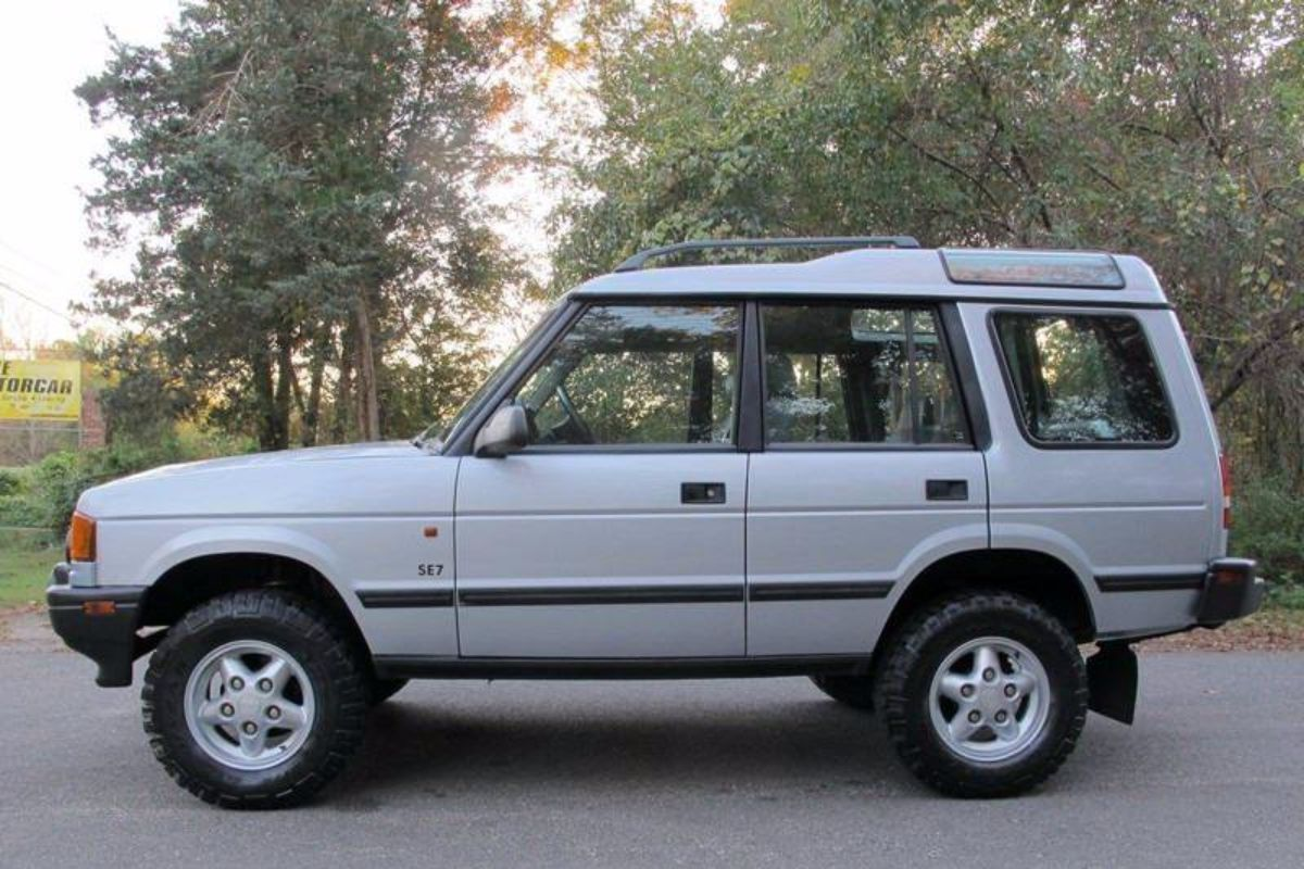 1996 land rover discovery se7 5 speed manual second daily classics rh seconddaily com 1996 land rover discovery owners manual 1996 land rover discovery manual transmission