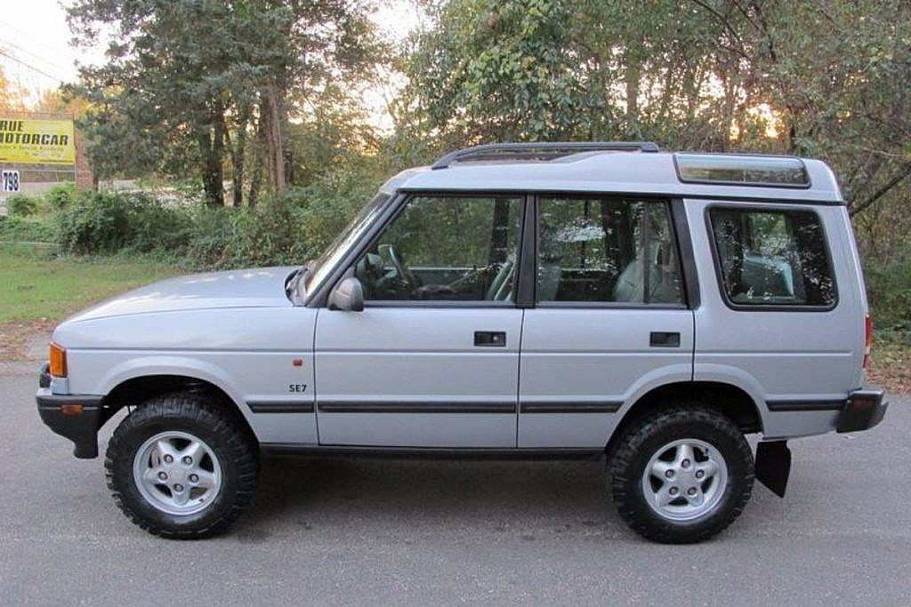 1996 land rover discovery se7 5 speed manual second daily classics rh seconddaily com land rover discovery manual transmission for sale used uk land rover discovery manual transmission for sale