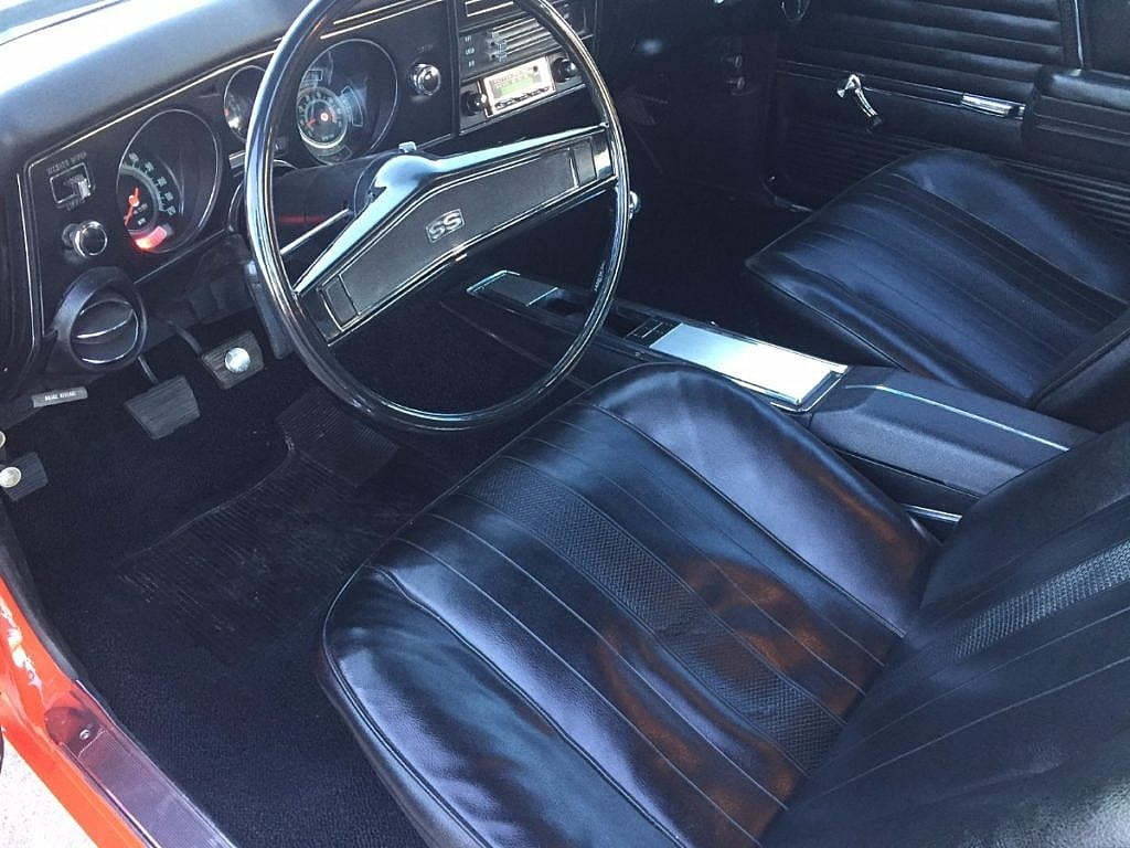 1969 Chevrolet Chevelle Ss 396 325 4 Speed Second Daily
