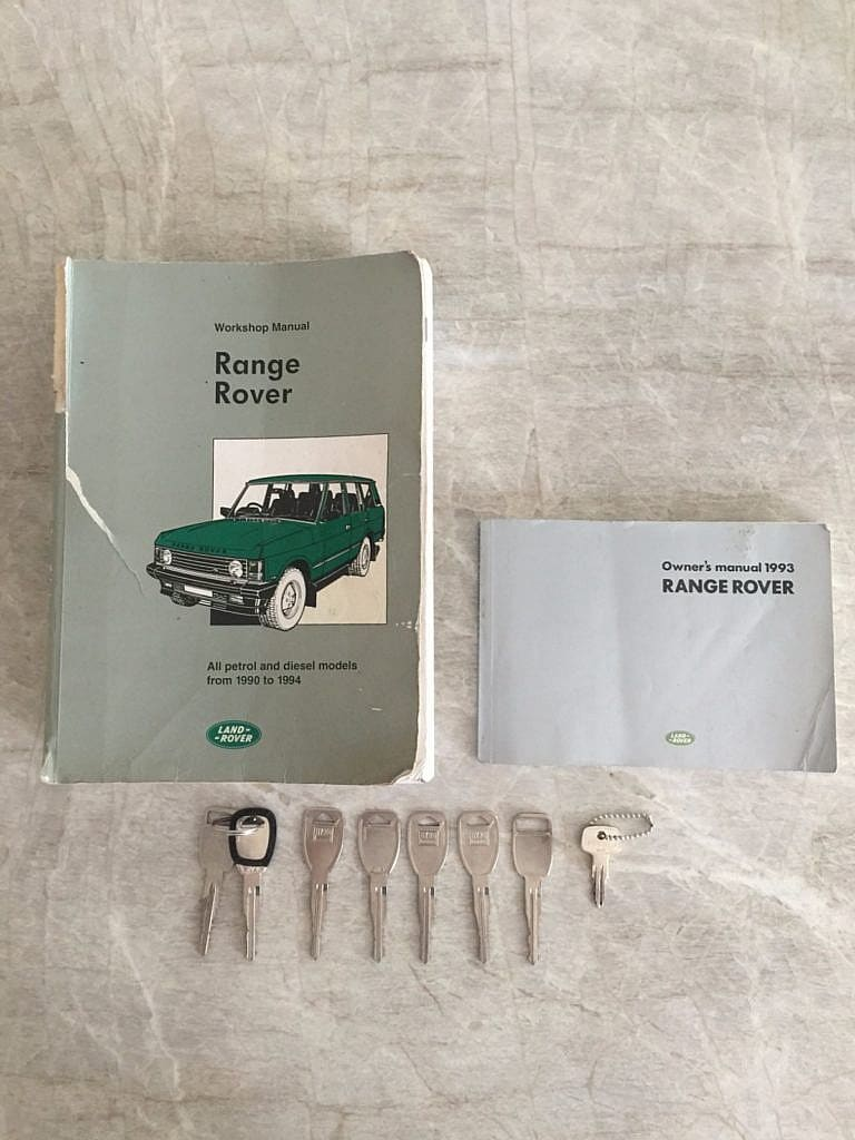 1993 Range Rover Classic Lwb Rust Free Mosswood Green Second Fuse Box And Land Calvin Check Out Appropriately The Vin Showing On Door Label Does Not Map To Any Other Truck So It Assumed Be In Error A