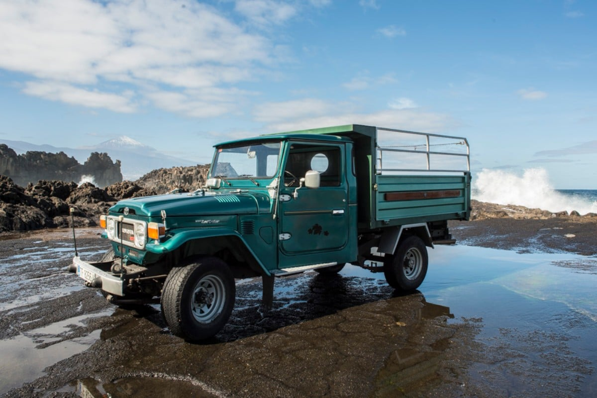 for sale 1981 toyota land cruiser bj45 pickup dumpbed. Black Bedroom Furniture Sets. Home Design Ideas