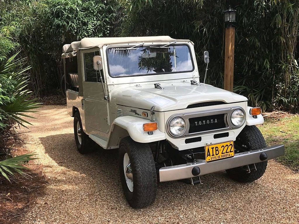 1973 Toyota Land Cruiser Fj43 One Owner Fully Restored Second Daily Classics